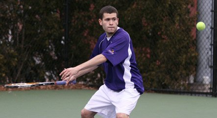 Me playing tennis