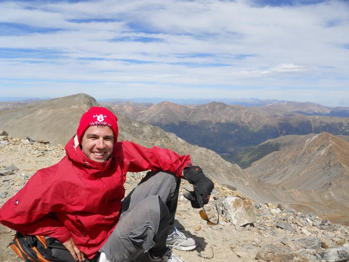 Mountain_selfie
