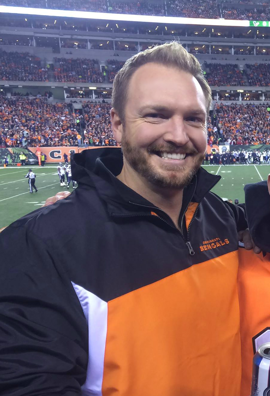 Adam pic at bengals game