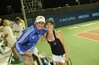 Bob and martina hingis  7 9 11  newport beach