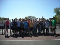 Spa ms boys tennis clinic photo