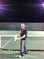 Me at tennis court