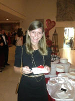 Alice at french embassy eating hearts